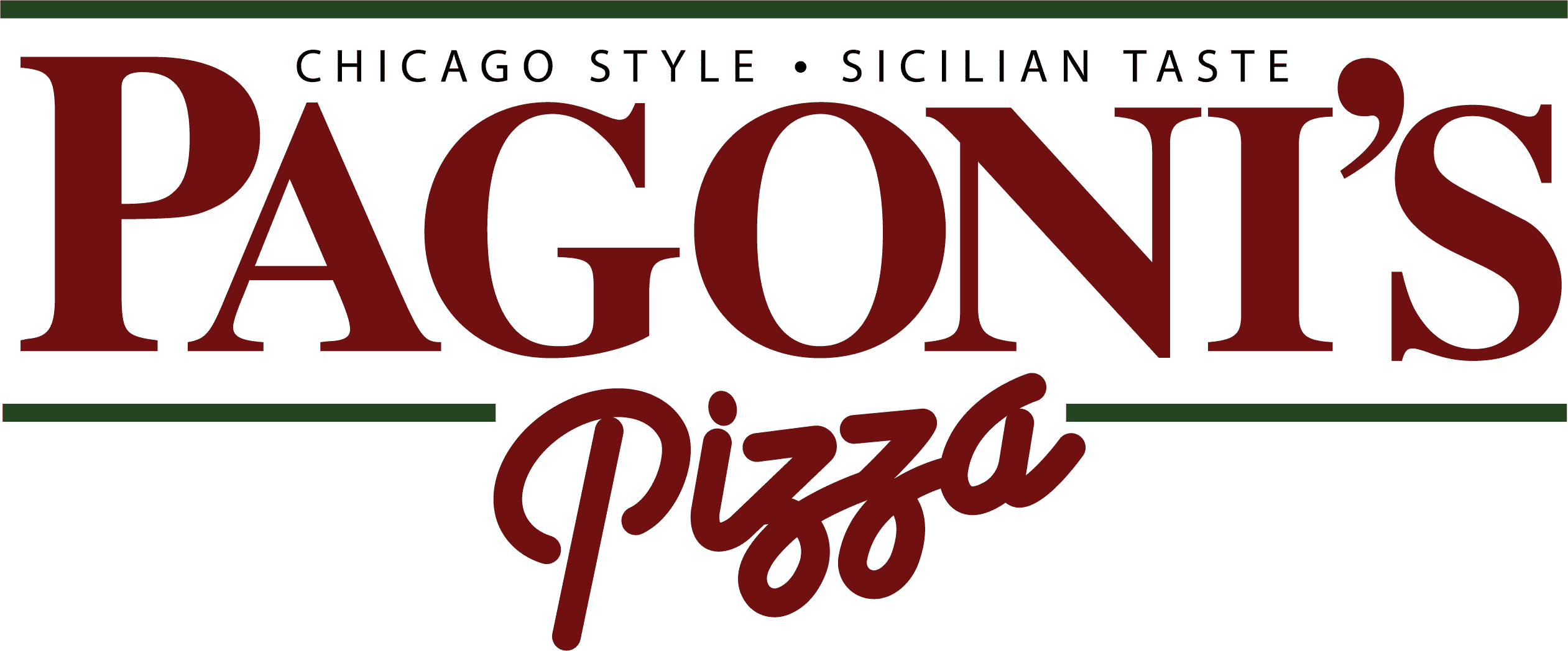 Chicago Style Sicilian Taste Pagonis Pizza